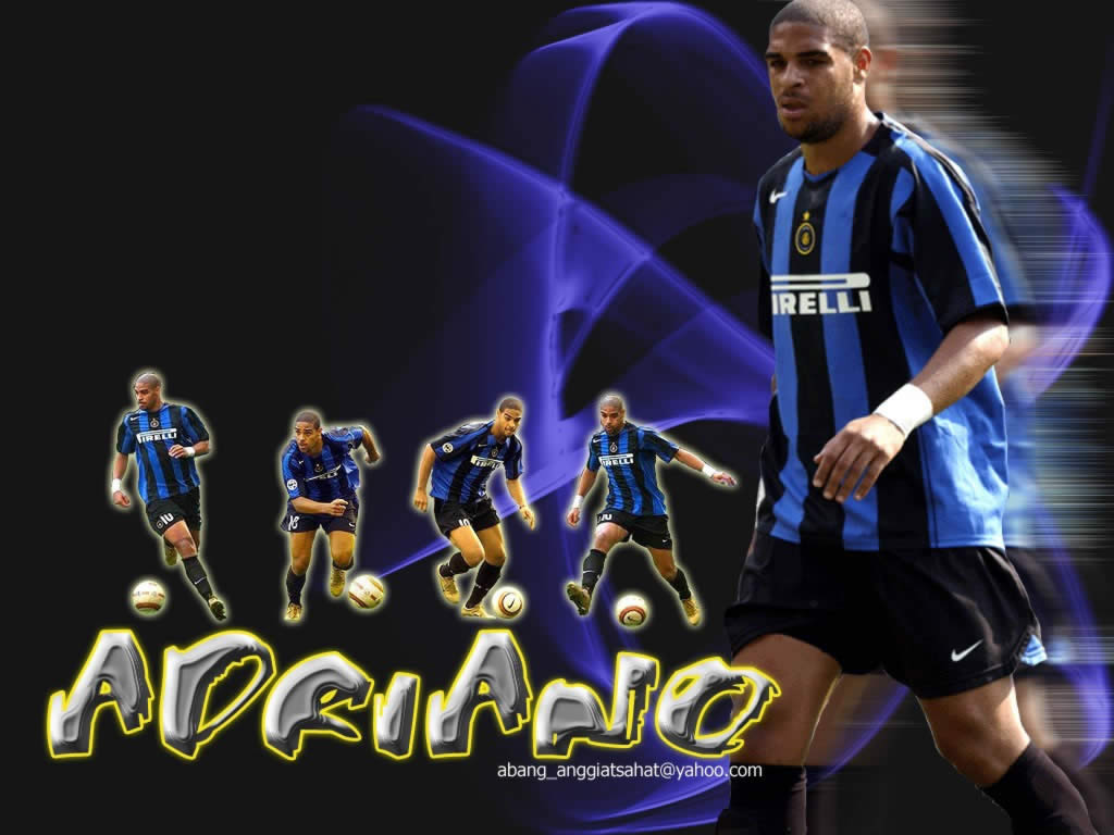 Adriano Inter Milan Football Player